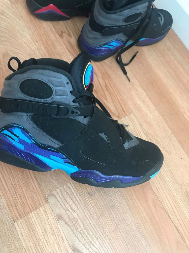 afadb6975e78 Air Jordan Retro 8 Aquas Mens Size 11 100% Authentic  fashion  clothing   shoes  accessories  mensshoes  athleticshoes (ebay link)