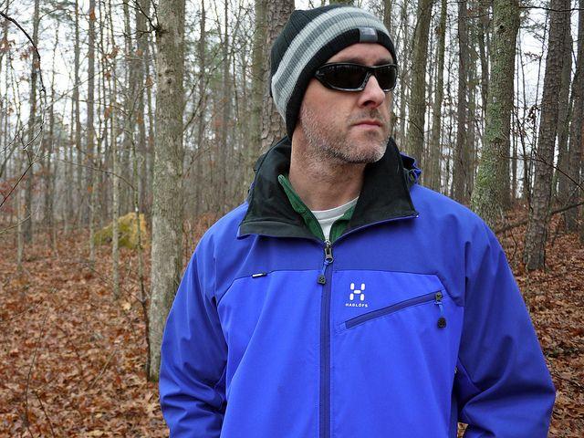 Haglöfs Talus Windstopper Jacket by Brian's Backpacking Blog