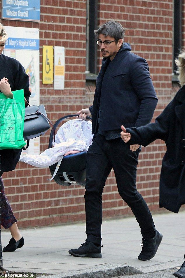 Tamsin Egerton and Josh Hartnett confirm arrival of their ...