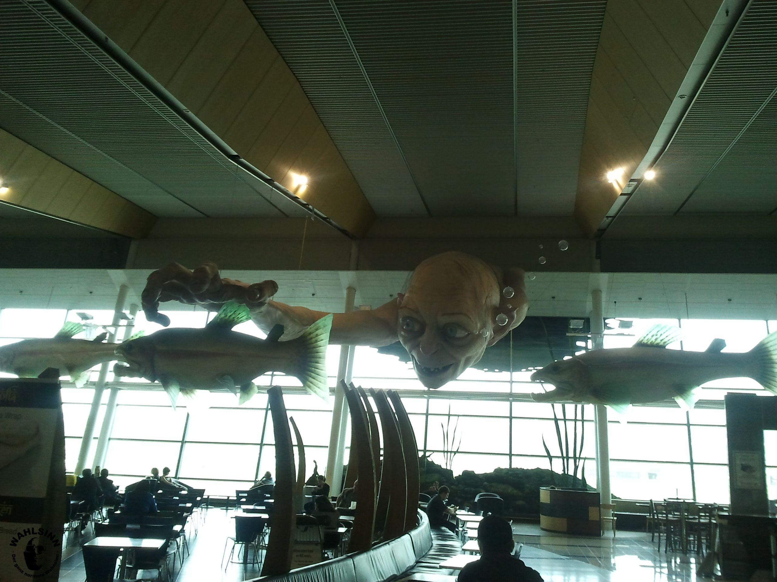 Der Flughafen von Wellington // Neuseeland
