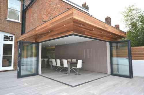 Id e agrandissement maison 50 extensions esth tiques for Extension piscine couverte