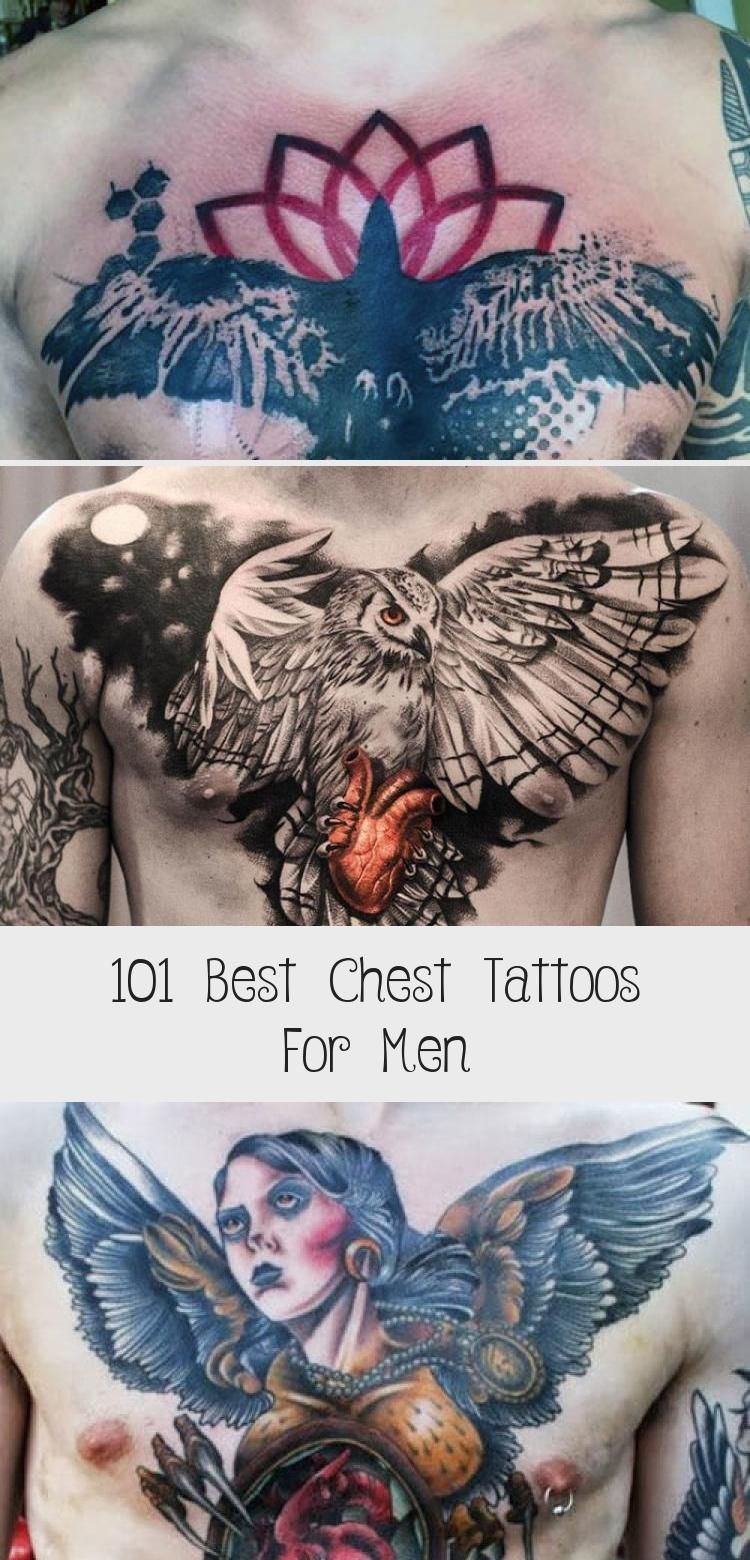 101 Best Chest Tattoos For Men Tattoos Chest Heart