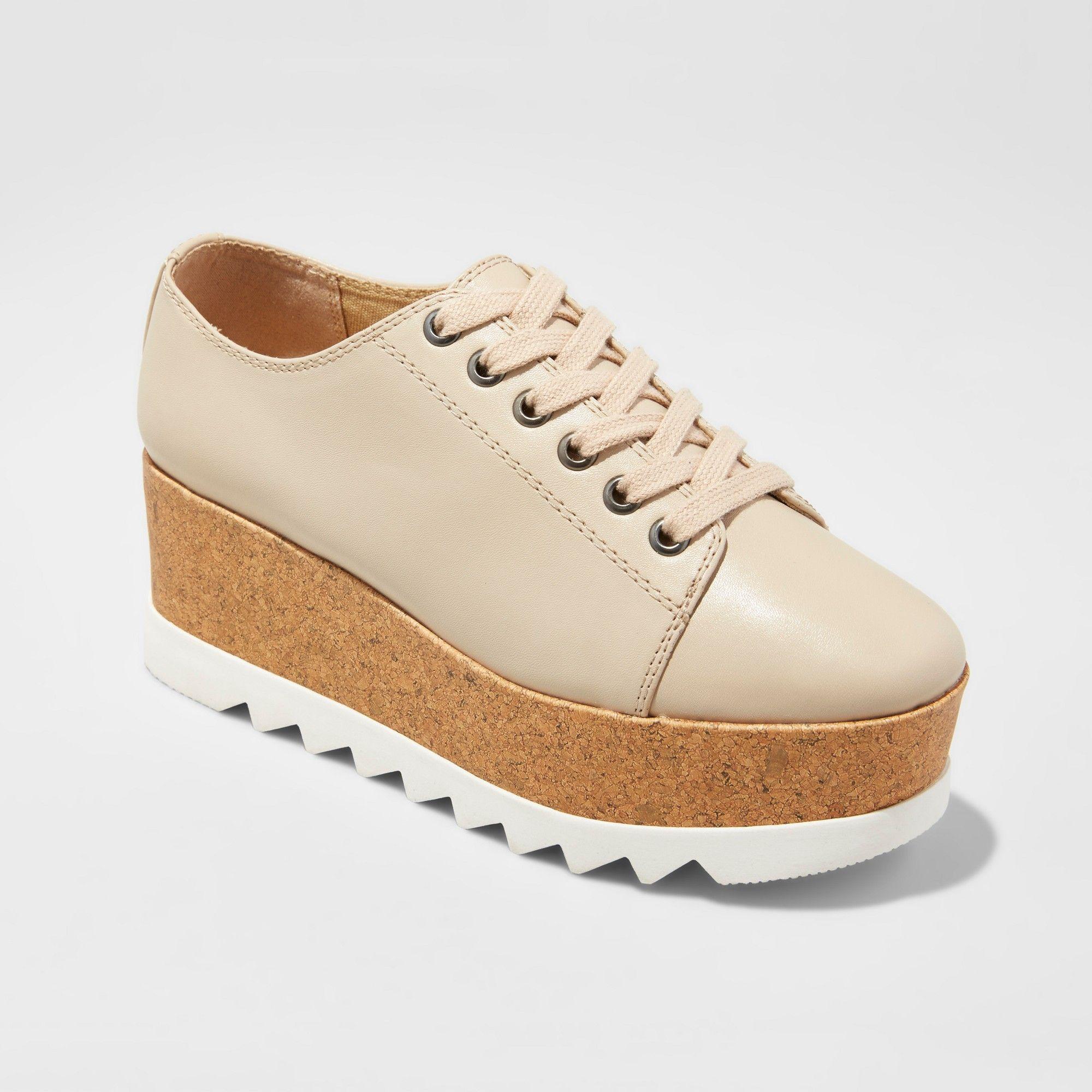 Women s Juniper Platform Oxford Shoes Mossimo Supply Co Tan 7 5