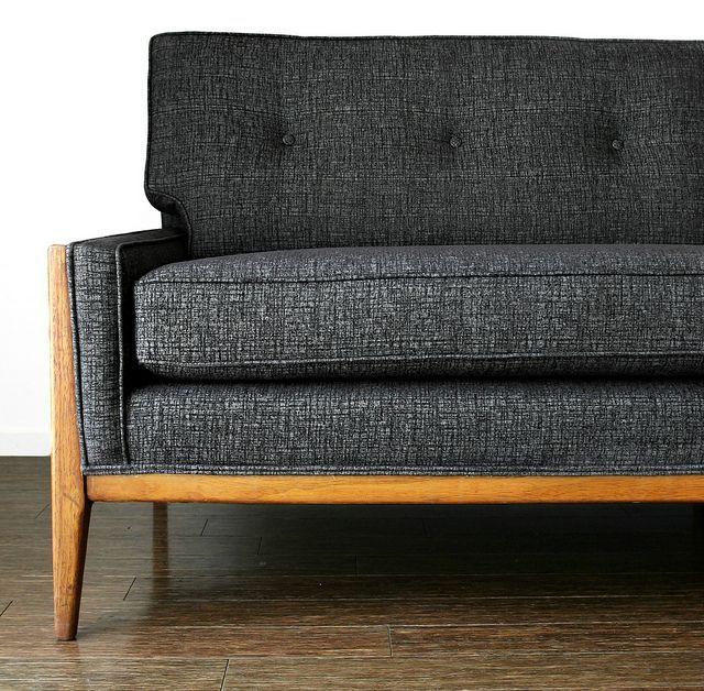 Fantastic Amazing Vintage Danish Mid Century Modern Tweed Dux Sofa Onthecornerstone Fun Painted Chair Ideas Images Onthecornerstoneorg