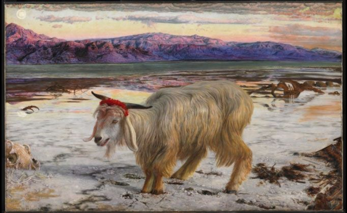 The Scapegoat, 1854 – 1856.