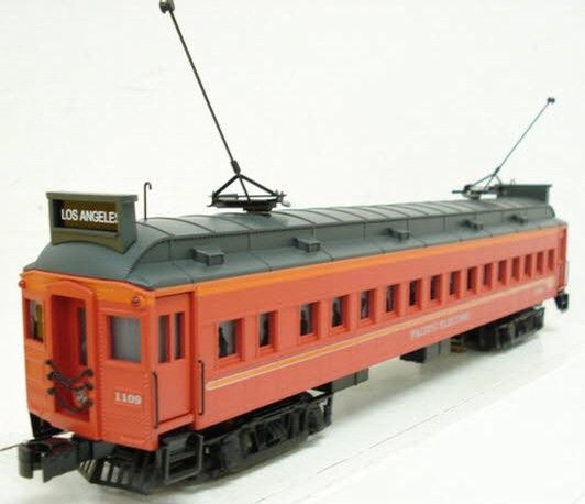 K-Line K27781 Pacific Electric Mu Interban 2 Pac - - Trainz Auctions