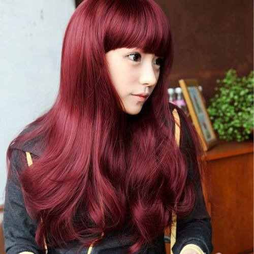 Image Result For Red Hair Asian Hairstyle Pinterest Red Hair - Asian hairstyle party