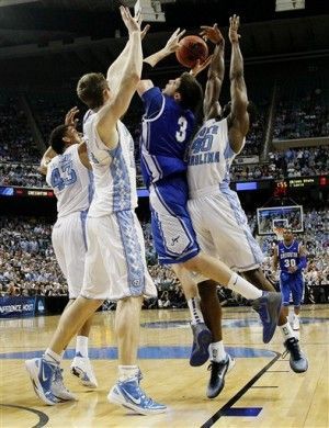 UNC/Creighton and they still couldn't stop Dougie!