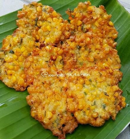 Resep Bakwan Jagung Kriuuuk Bangett Oleh Xander S Kitchen Resep Resep Makanan Asia Resep Resep Masakan Asia