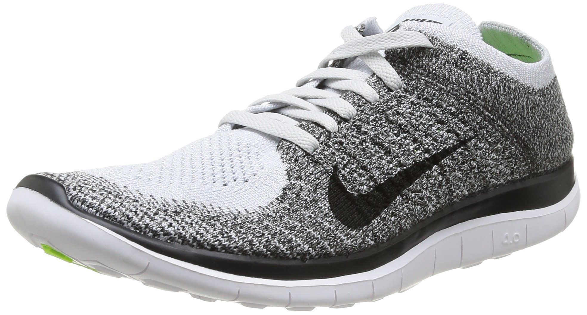 0b443cacf102bc ... black white road running c83ad 11fa9; new style amazon nike mens free  4.0 flyknit running shoe shoes 8c82a 14db4