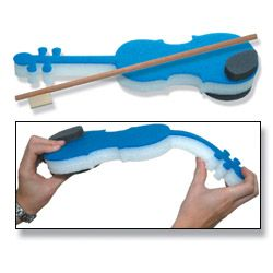 Foam-a-lin (TM) Pre-Twinkle Violin Trainer & Bow