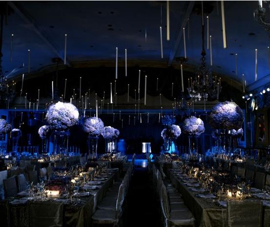 Midnight Blue Wedding Decorations: Midnight Theme Event