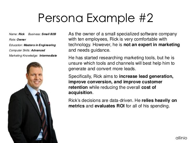 Software company owner persona src imageslidesharecdn