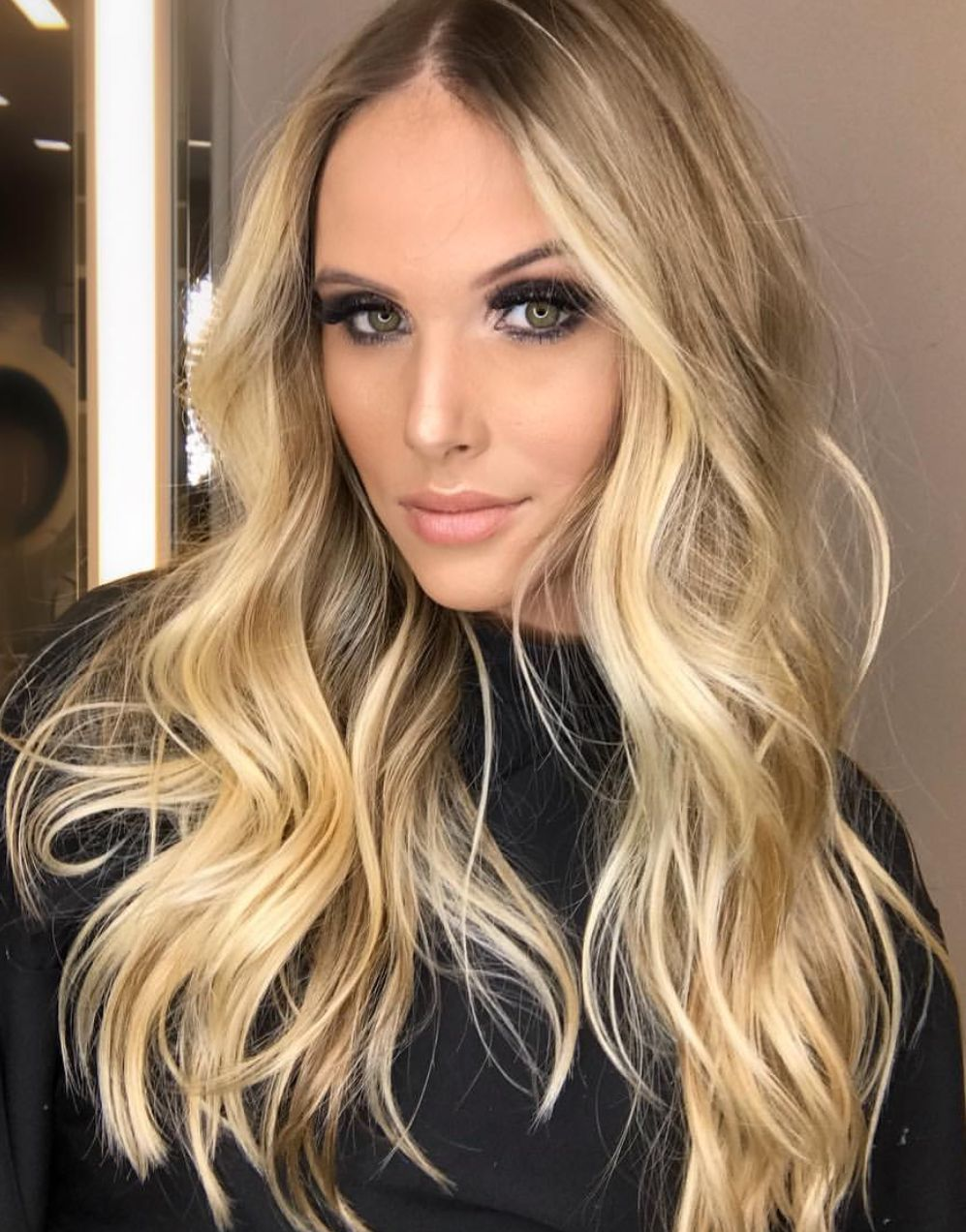 pinterest deborahpraha long hair with curls and balayage blonde hair color shades cortescabellocolores de pelo rubiocortes - Cortes De Pelo Rubio