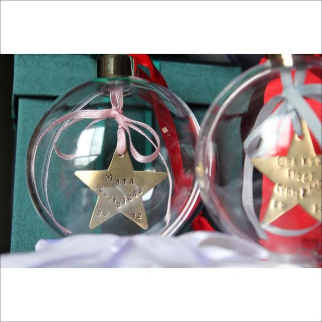 personalised christmas ornaments australia