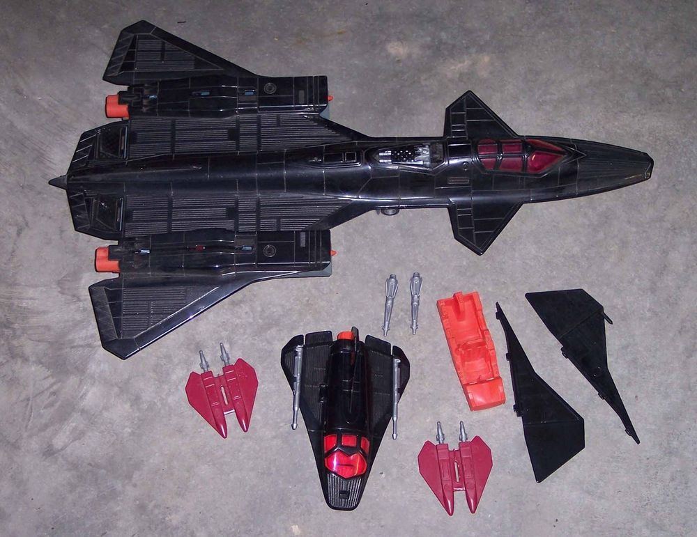 GI Joe 1987 Marauder Missile//Bomb GREAT SHAPE Part LP
