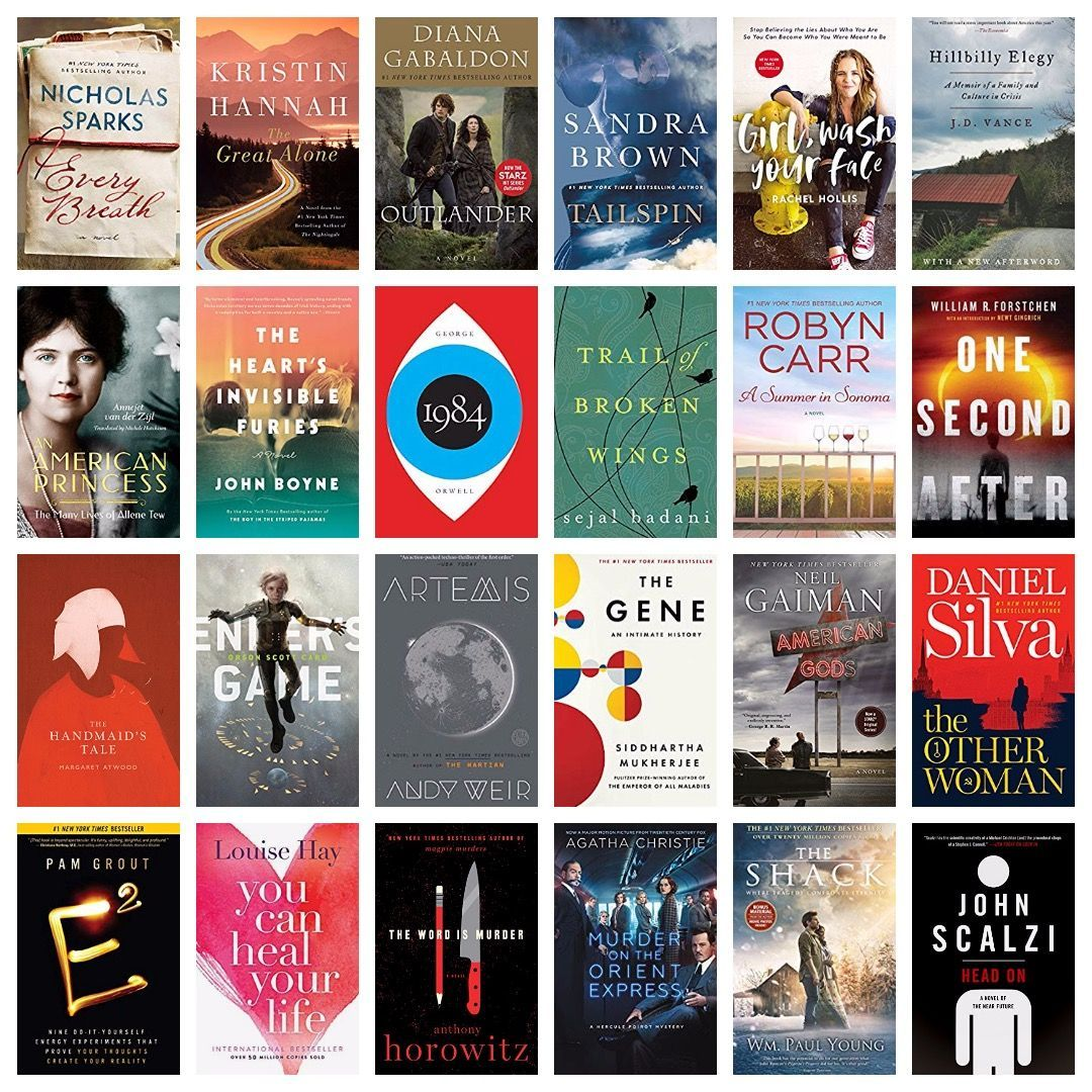 In a huge Cyber Monday sale, 500 Kindle ebooks are up to