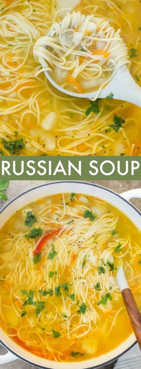 Simple Russian Soup - Valentina's Corner