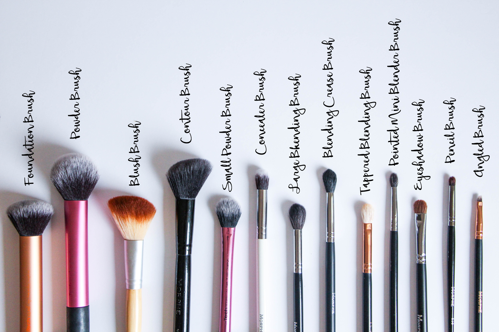 The 14 Types Of Makeup Brushes You Need For Flawless