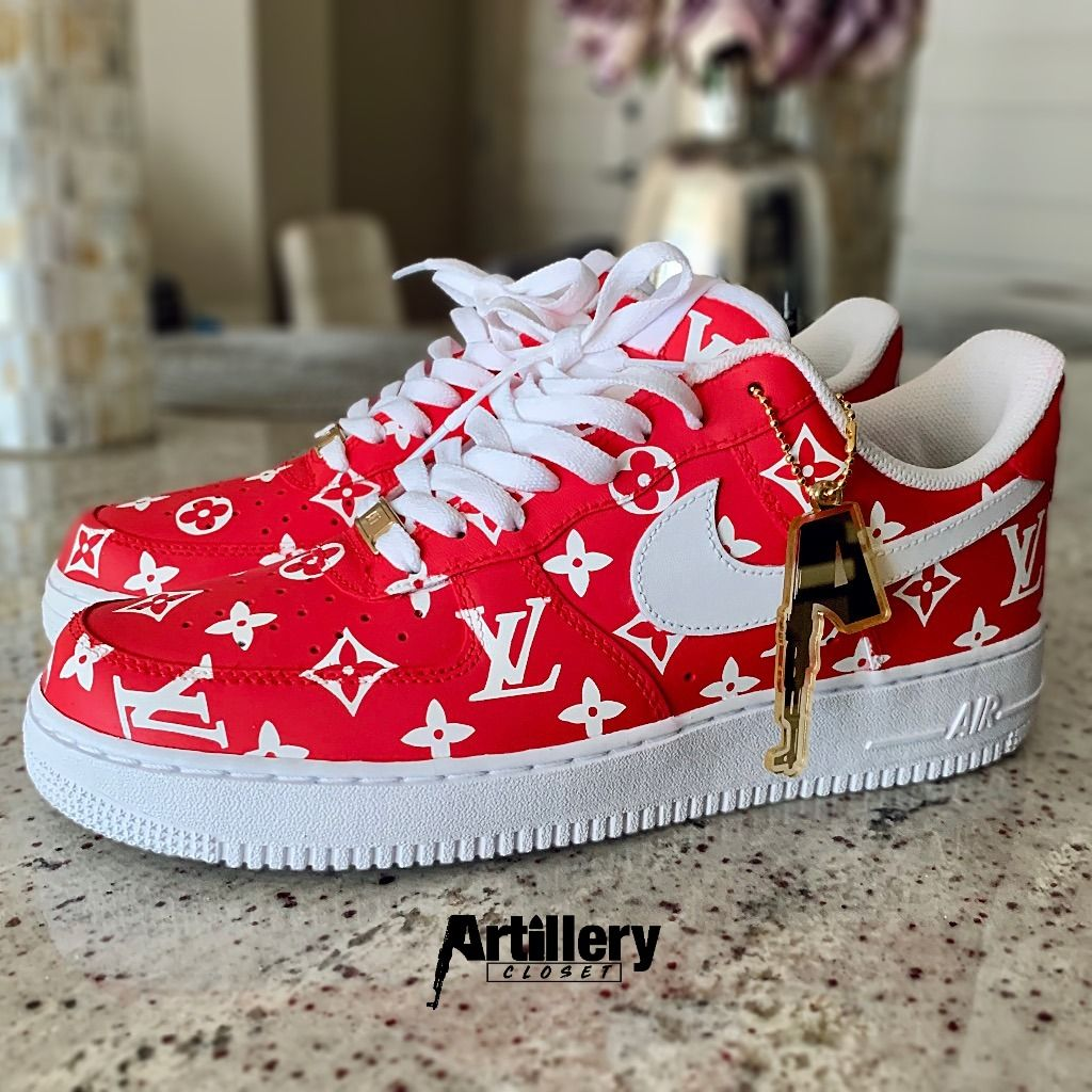 Nike Air Force 1 SUPREME x LV drop 1 in 2020 (With images