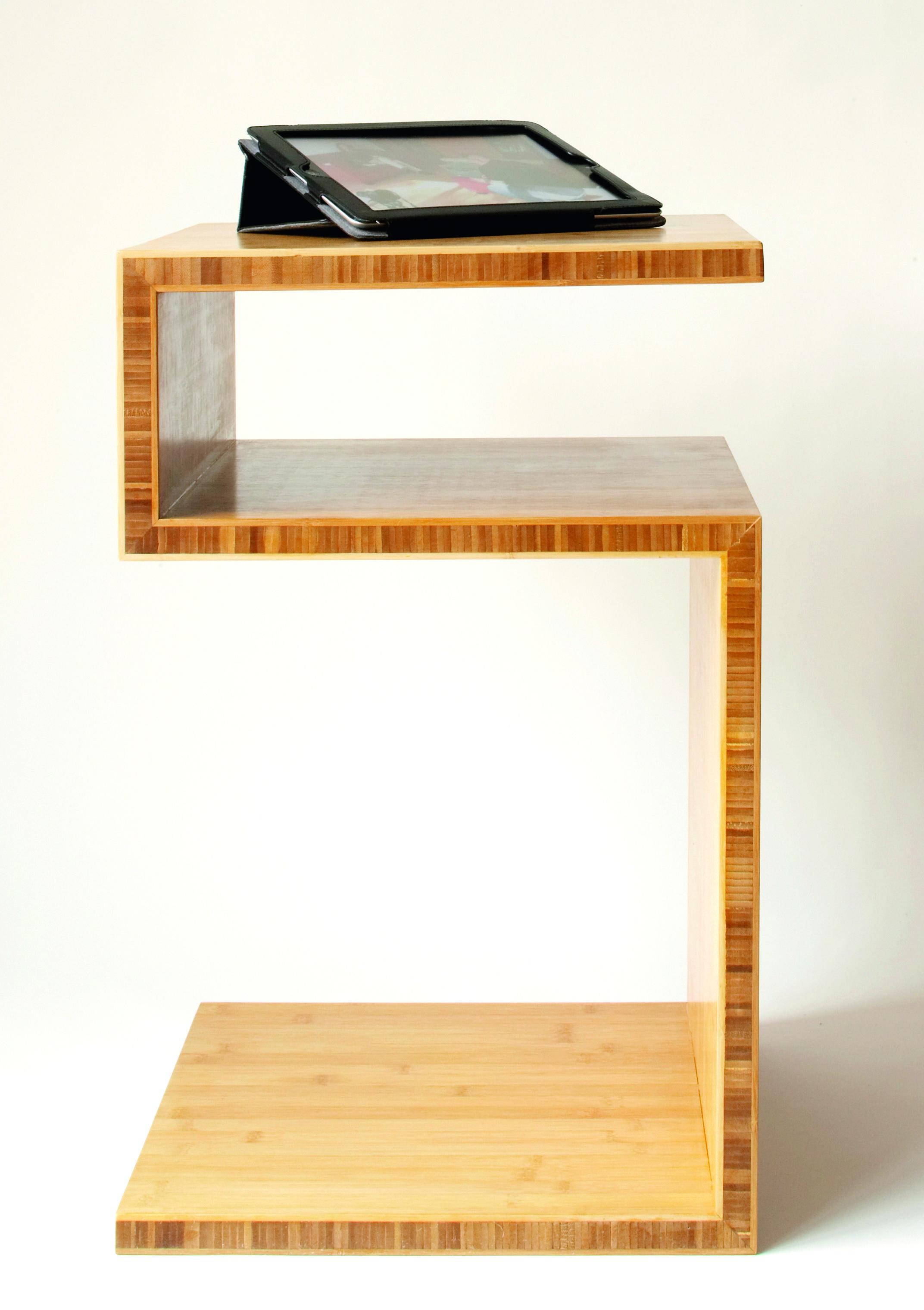 beistelltisch aus bambusplatte | selber machen heimwerkermagazin