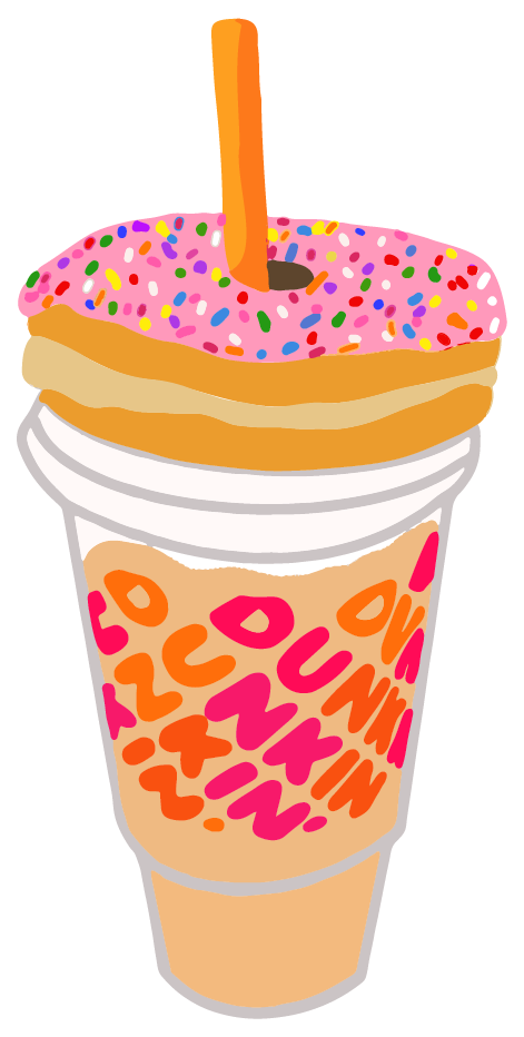 Dunkin Donuts Aesthetic Iphone Wallpaper Dunkin Donuts Dunkin Dunkin Dounuts