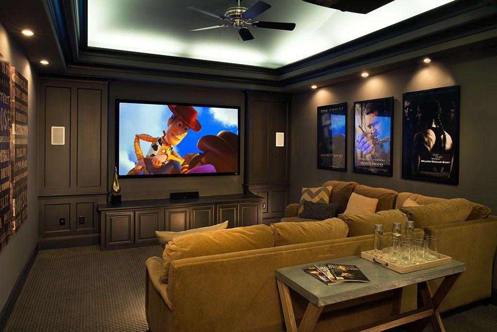 Huntington Homes Craig Ranch Media Room Mckinney Tx Plan