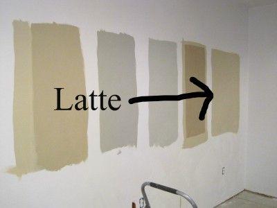 Restoration Hardware Latte Sample Is This My Bat Paint Color