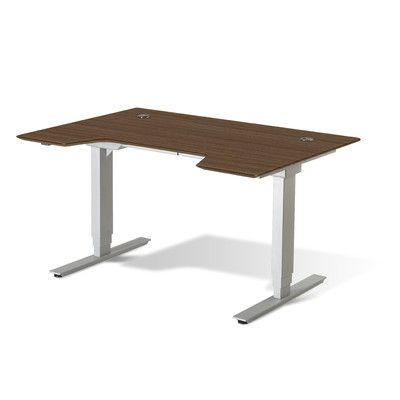 Beau Jesper Office Ergonomics Standing Desk U0026 Reviews | Wayfair | Office |  Pinterest | Desks, Office Desks And House