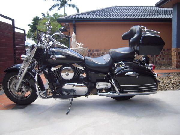 2004 Kawasaki 1500cc Vulcan Nomad Fi L4 7500