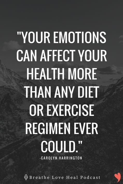 Episode #8: Your Emotions / Your Health.