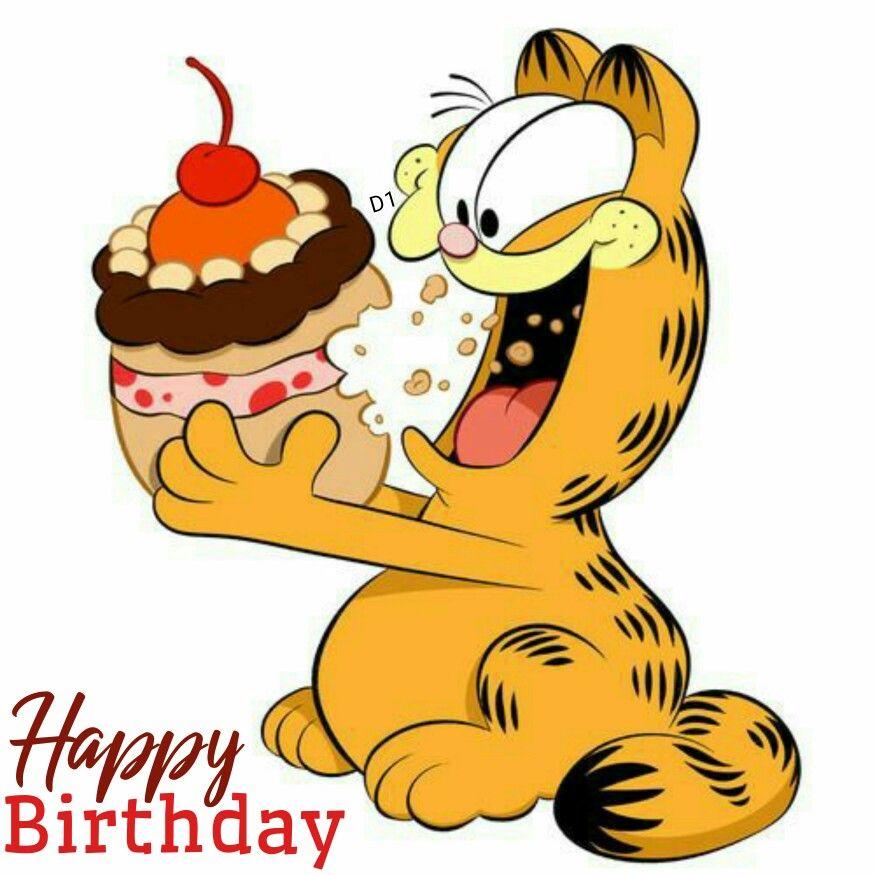 Happy Birthday Garfield Cartoon Garfield And Odie Garfield