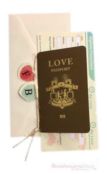 Partecipazione Di Nozze Passaporto Partecipazione Matrimonio Passaporto Con Impronte Digitali A Cuo Partecipazioni Nozze Partecipazioni Per Matrimonio Nozze