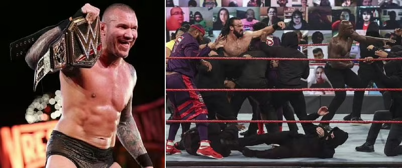 Wwe Clash Of Champions 2020 5 Potential Finishes For Drew Mcintyre Vs Randy Orton In 2020 Clash Of Champions Drew Mcintyre Randy Orton Wwe