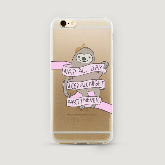 Sloth Friends iphone case