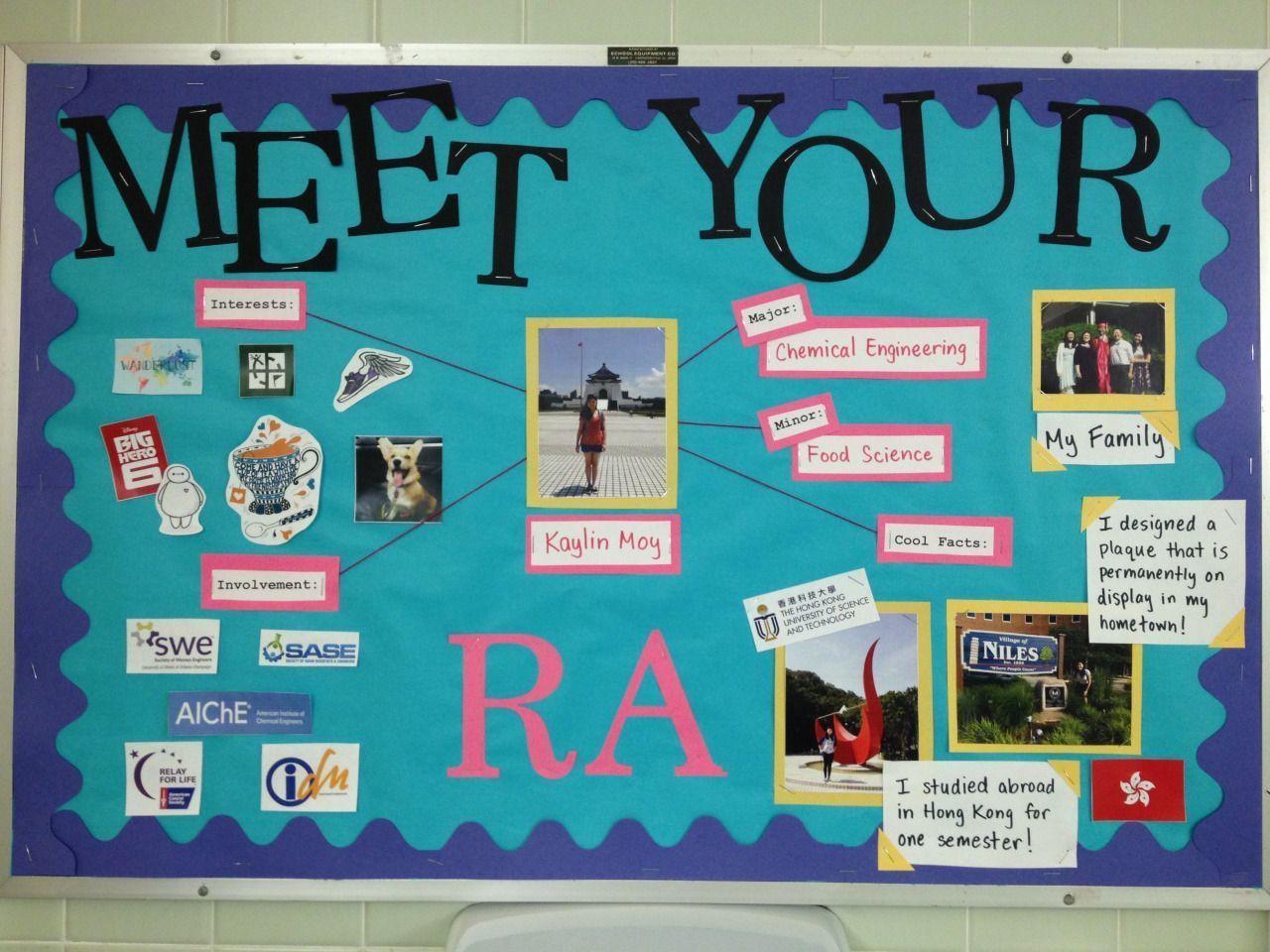 Meet your RA bulletin board! #RA #ResLife #rabulletinboards Meet your RA bulletin board! #RA #ResLife #rabulletinboards Meet your RA bulletin board! #RA #ResLife #rabulletinboards Meet your RA bulletin board! #RA #ResLife #rabulletinboards