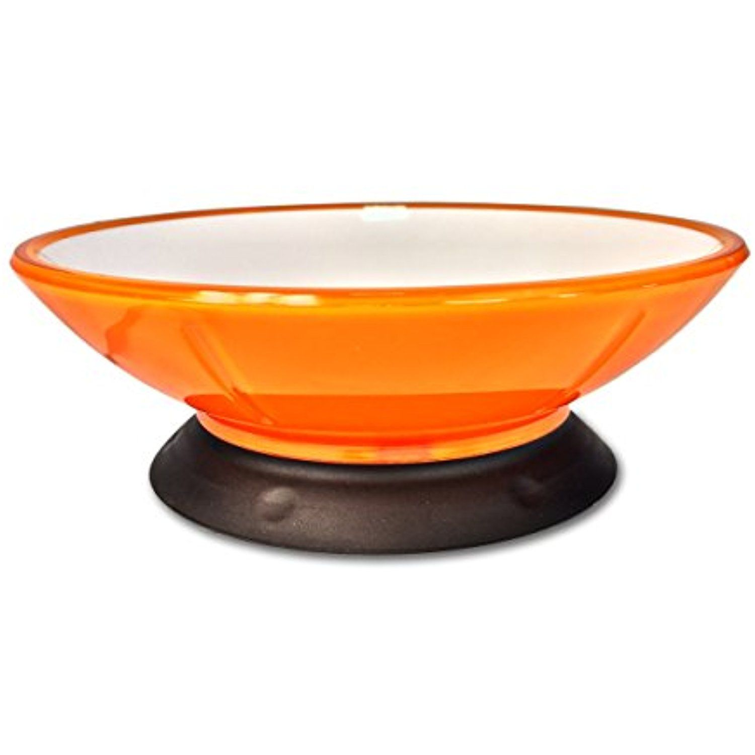 Modapet 2 Cup Pedestal Base Dog And Cat Bowl Tangerine For More