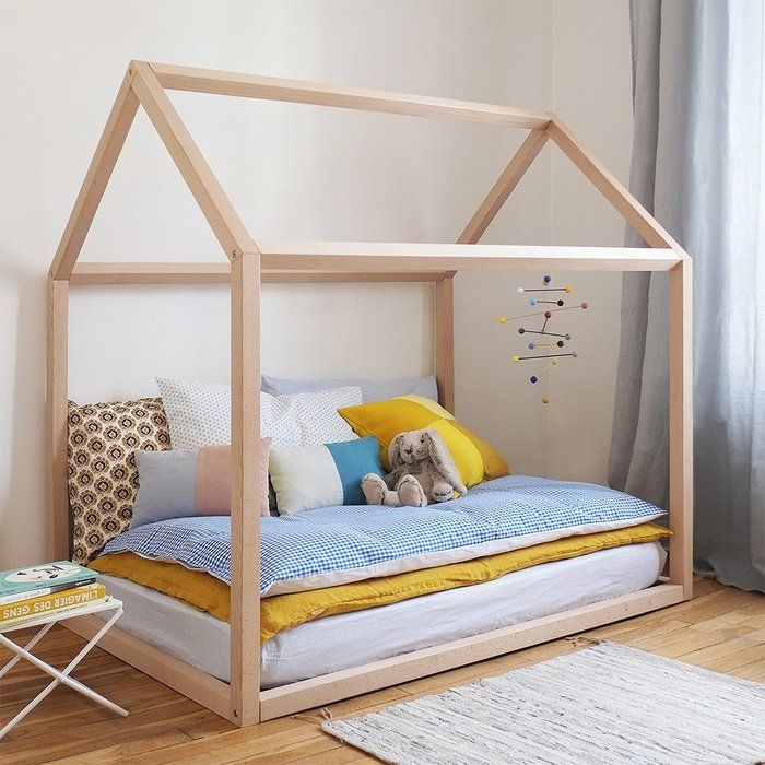 Wooden House Single Bed In 2018