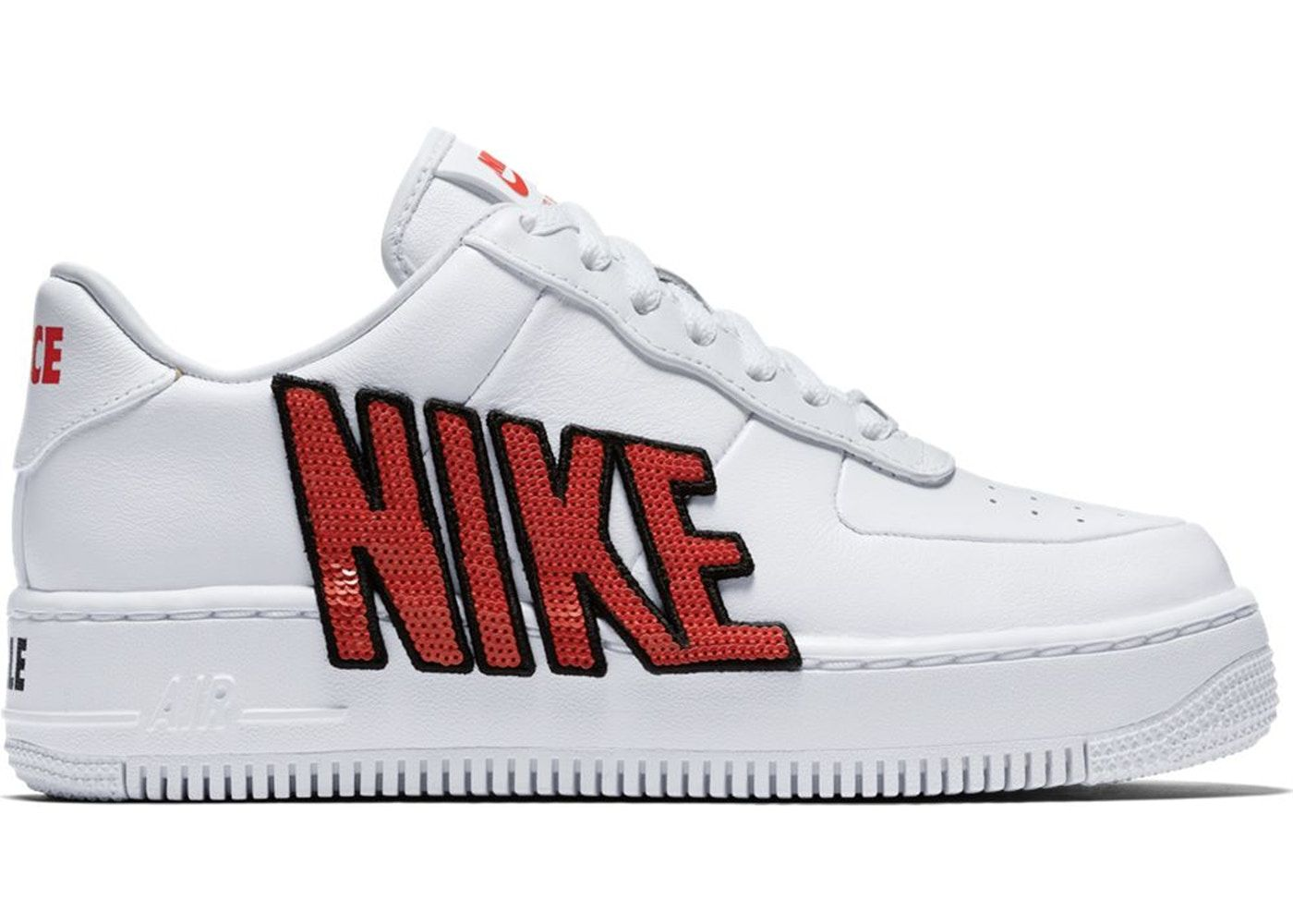 Check out the Air Force 1 Upstep Force Is Female White (W) available on  StockX 15dc38822