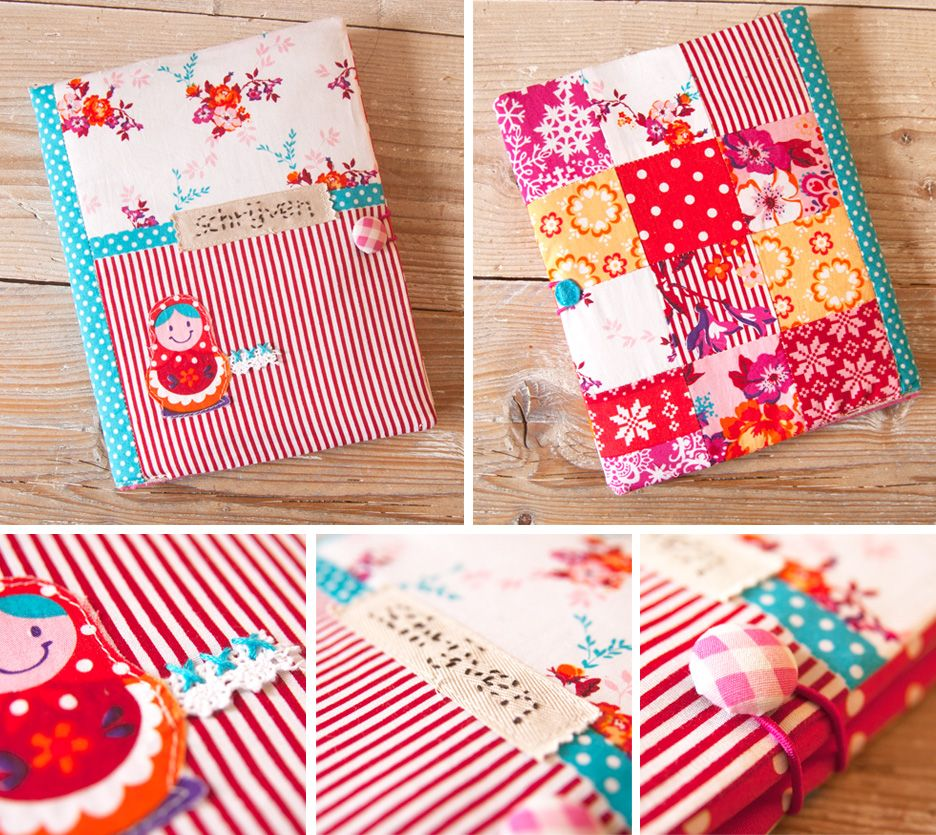 Book Cover Sewing Quarters ~ Eline s winterhuis happy and bright notitieboek wanna