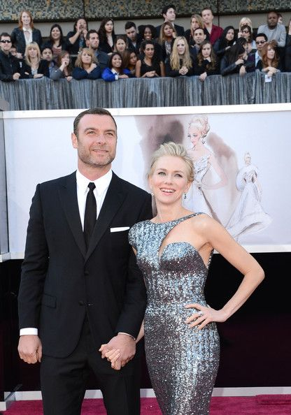 Naomi and Liev at 85th Annual Academy Awards - Arrivals