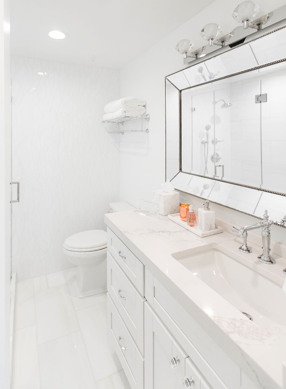 White Marble Bathroom Decor Ideas Home Redesign White Marble