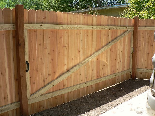 Back Of Removable Section Of Fence Fence Design Privacy Screen Outdoor Privacy Fence Panels
