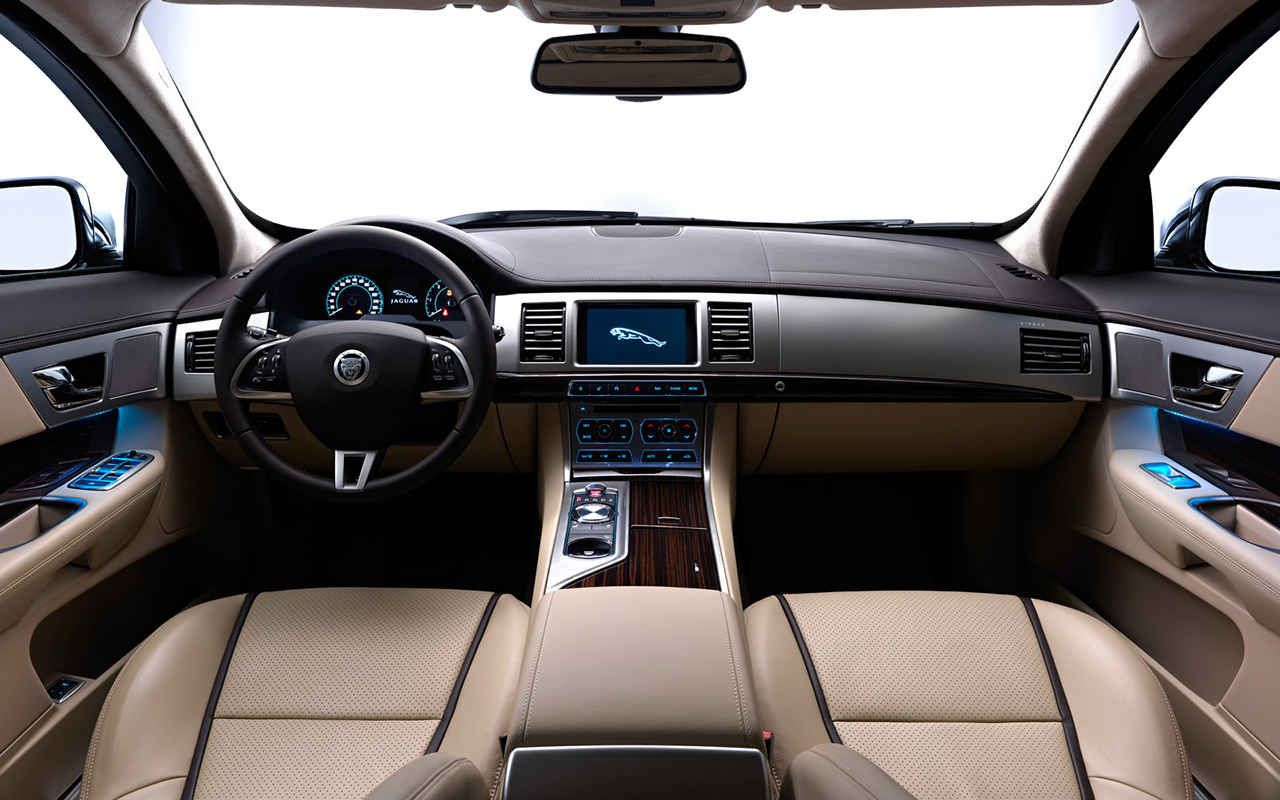 Jaguar XF sportbrake interior | Jaguar | Pinterest