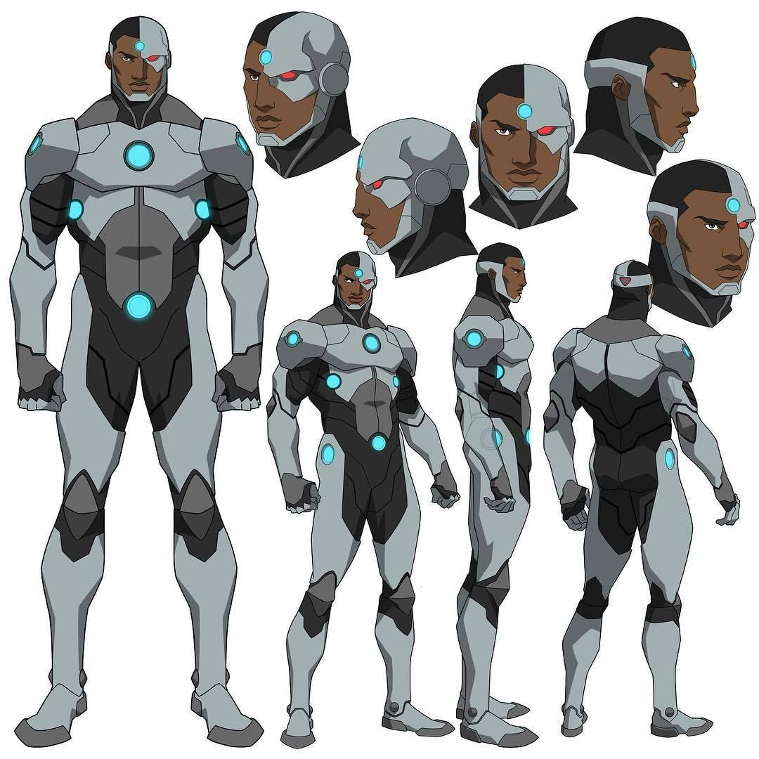 New Cyborg Design For Reign Of The Supermen By Phil