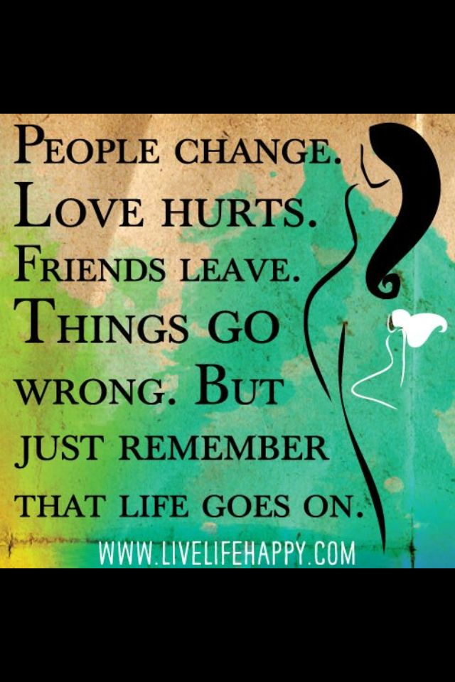 Life goes on !! :-)