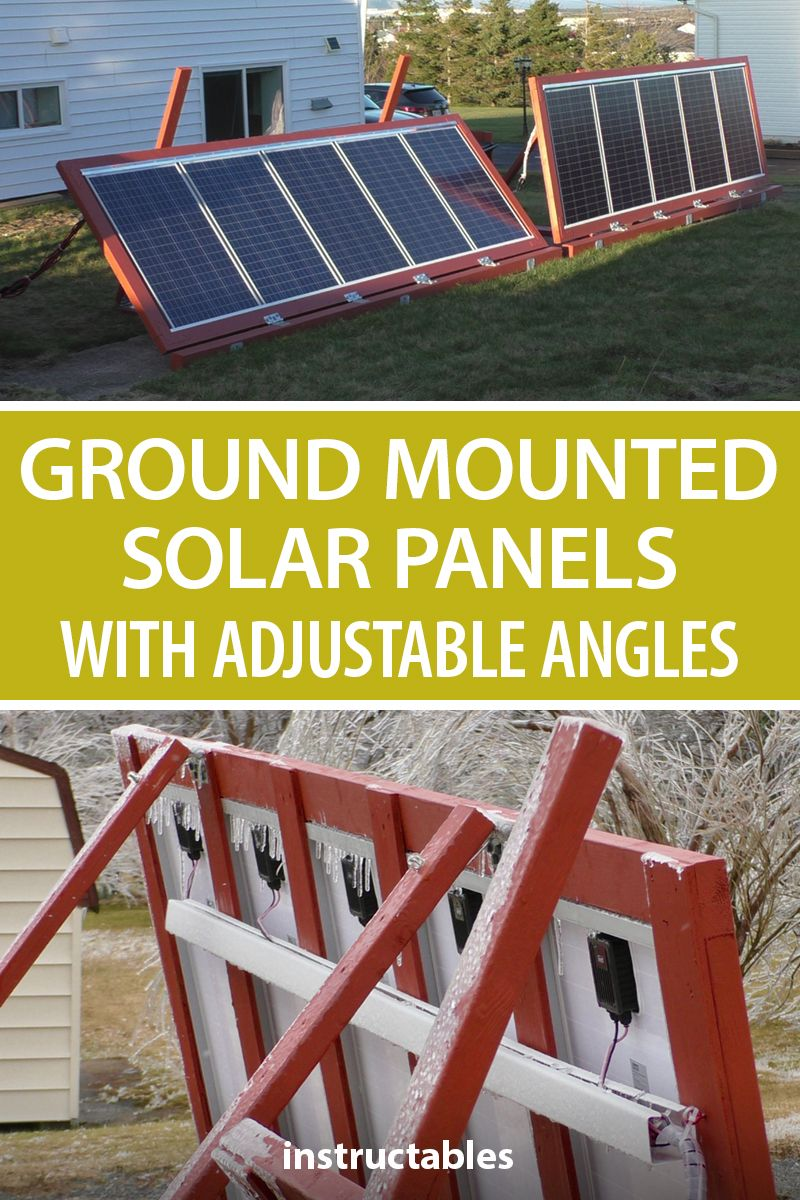 Ground Mounted Solar Panels With Adjustable Angles Solar Panels Solar Projects Uses Of Solar Energy
