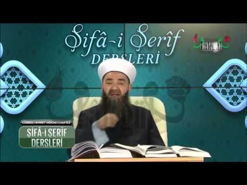 Şifa i Şerif Dersleri 4 Bölüm ~ Cübbeli Ahmet Hocaefendi 4.Aralık.2015 - YouTube