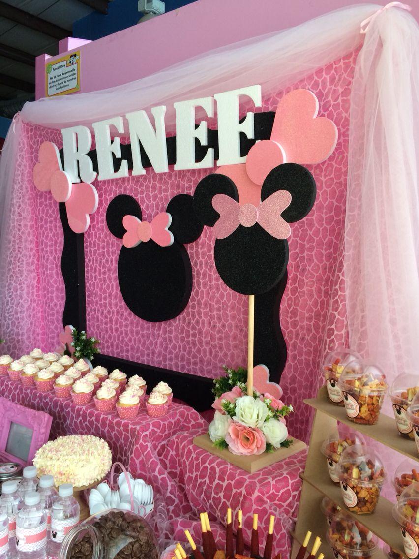 Minnie Mouse Candy Bar Reinas Birthday Party Minnie