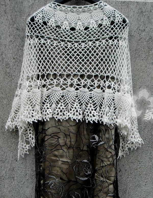Source Fabulous Lace Shawl Scarf Or Wrap Pattern A It Is